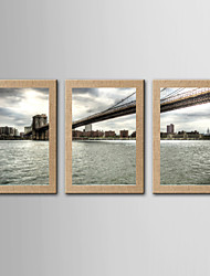 Stampe fotografiche Riproduzione Paesaggi Realismo,Tre Pannelli Stile Panoramica Stampa artistica Decorazioni da parete For Decorazioni