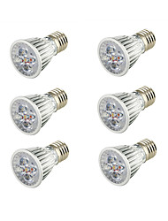cheap -5W E26/E27 LED Spotlight B 5 leds COB Decorative Warm White 400-450lm 3000K AC 85-265V