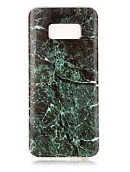 economico -Custodia Per Samsung Galaxy S8 Plus S8 IMD Custodia posteriore Effetto marmo Morbido TPU per S8 S8 Plus