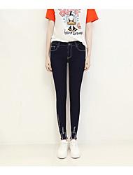 ka duolin segno 2017 primavera e l'estate la versione coreana di jeans slim allungare sottili piedi matita pantaloni
