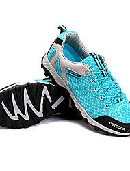 LEIBINDI Sneakers Hiking Shoes Running Shoes Men's Anti-Slip Anti-Shake/Damping Wearproof Outdoor Low-Top Breathable Mesh Perforated EVA