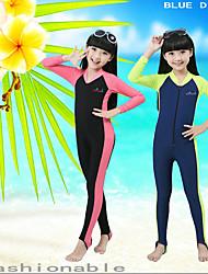 preiswerte -Bluedive Herrn Kinder Wasserdicht Japanische Baumwolle Kurzarm Röcke Unten Tauchen
