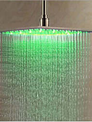 cheap -Contemporary Rain Shower Chrome Feature-LED , Shower Head