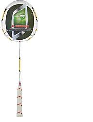 Racchette da badminton Non deformabile Alta resistenza Duraturo Stabilità Fibra di carbonio Un paio × 2 per