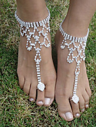 cheap -The Bride Diamond Anklets Wedding Party Special Occasion 1 Piece (not 1 pair)