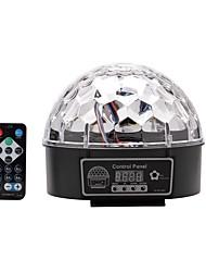 modo de som u'king® dmx512 bola de cristal mágica luz do estágio auto DMX com 1pcs controle remoto