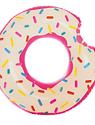 cheap -Inflatable Pool Float Donut Pool Float Swim Rings Toys Circular Duck Men's Women's Pieces