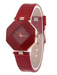 cheap -Women's Quartz Wrist Watch Hot Sale Silicone Band Casual Fashion Black White Blue Red Brown