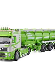 Недорогие -Автоцистерна Игрушечные грузовики и строительная техника Игрушечные машинки 1:50 Металлические Универсальные Детские Игрушки Подарок