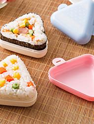 2 Pças. Bolas de arroz Utensílio para Sushi For Para utensílios de cozinha para o arroz PlásticoAlta qualidade Multifunções Gadget de