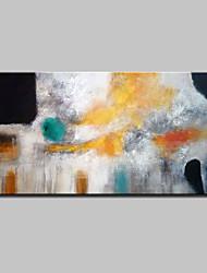 Pittura a olio astratta moderna dipinta a mano su tela di canapa immagini di arte della parete per la decorazione domestica pronta a appendere