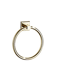 cheap -Towel Racks & Holders Modern Brass 1 pc - Hotel bath towel ring