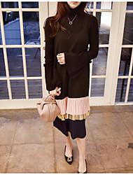 han Guoguan ponto rede nova moda plissado balanço vestido arnês