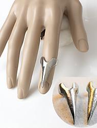 preiswerte -Herrn Nagel-Finger-Ringe Einzigartiges Design Aleación Trapezform Schmuck Besondere Anlässe Alltag Normal