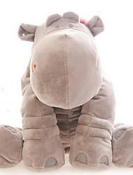 Peluches Poupées Oreiller farci Jouets Canard Cheval Hippopotame Animaux Garçon Fille 1 Pièces