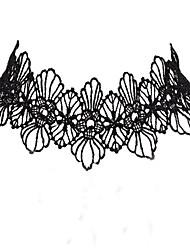 Doce Colar Inspiração Vintage Acessórios Lolita Colar Cor Única Para Poliéster Metal