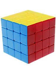 baratos -Rubik's Cube Vingança 4*4*4 Cubo Macio de Velocidade Cubos Mágicos Cubo Mágico Adesivo Liso Quadrada Dom