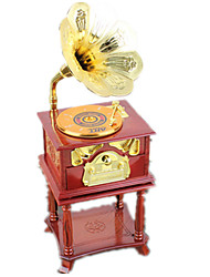 abordables -Caja de música Cuadrado Madera Clásico y Atemporal 5 a 7 años 8 a 13 años
