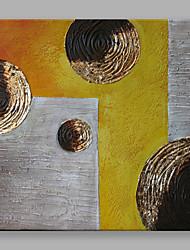 economico -Dipinta a mano Astratto Quadrata,Modern Un Pannello Tela Hang-Dipinto ad olio For Decorazioni per la casa