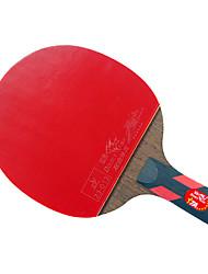 4 Stelle Ping-pong Racchette Ping Pang Legno Manopola corta Brufoli