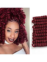 Kanekalon crochet Braiding Hair Crochet Braids Bouncy Curl Hair Extension Saniya CURL Crochet Hair 20roots/pack 5packs make head