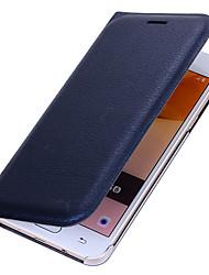 economico -Custodia Per Samsung Galaxy J7 Prime J5 Prime Porta-carte di credito Con chiusura magnetica Integrale Tinta unica Resistente Similpelle