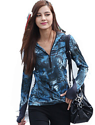 cheap -Women's Top Hunting / Leisure Sports Waterproof / Windproof / Wearable Spring / Summer / Fall Athleisure 1 pc / Breathable