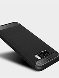 Недорогие -Кейс для Назначение SSamsung Galaxy S8 Plus S8 Защита от удара Кейс на заднюю панель Сплошной цвет Мягкий ТПУ для S8 Plus S8 S7 edge S7
