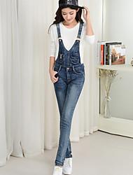 firmare rimovibili primavera 2017 salopette di jeans coreani femminili di marea nuovi pantaloni pezzo bretelle i pantaloni