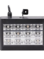 cheap -U'King 15W Mini DMX and Sound Activated 12RGB LEDs Stage Lighting Equipment LED Room Strobe For Disco DJ Party Music Show Stroboscope Projector