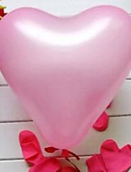 Palline Palloncini Giocattoli Circolare Pollo di plastica A cuore Non specificato 100 Pezzi