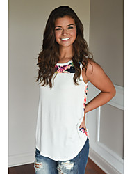 cheap -Women's Tank Top - Other, Floral Style