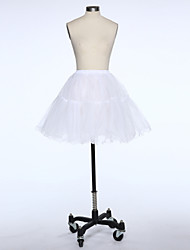 Wedding Special Occasion Daily Slips Tulle Short-Length A-Line Slip With
