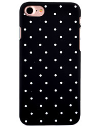 Pour iPhone 8 iPhone 8 Plus Etuis coque Motif Coque Arrière Coque Carreau vernisé Dur Polycarbonate pour Apple iPhone 8 Plus iPhone 8
