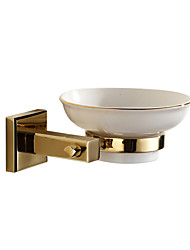 cheap -Soap Dishes & Holders Modern Brass gold