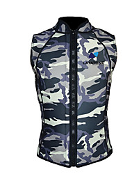 Life Jacket Waterproof Thermal / Warm Swimming Beach Nylon Terylene LYCRA® Patchwork Fashion Leaf Sports Camouflage