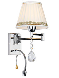 cheap -LightMyself Modern/Contemporary Rustic/Lodge Modern/Comtemporary Country Chrome Feature for Crystal Swing Arm Wall Lamp
