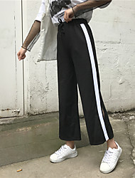 cheap -Women's Pants Pants - Stripe, Modern Style