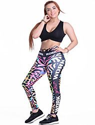 Women's Running Pants Breathable Leggings Bottoms for Yoga Running/Jogging Exercise & Fitness Polyester Slim S M L XL