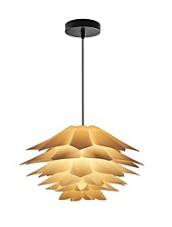 cheap -E14/E27 A-09DIY Kit Lotus Chandelier PP Pendant Lampshade Pendant  Lampshade