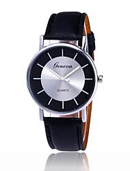 Fashion Women Geneva Quartz Watch Casual Luxury Leather Strap Watches Hot Selling
