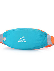 abordables -Riñoneras para Running Bolsas de Deporte Ligeras / Antirrobo / Móvil / Iphone Bolsa de Running Todo Teléfono móvil Nailon Azul cielo /