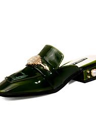 Femme-Mariage--Gros Talon Block Heel-Confort-Sandales-Microfibre