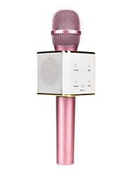 abordables -q7 magic karaoke microphone ktv player bluetooth mic speaker música de grabación para iphone android