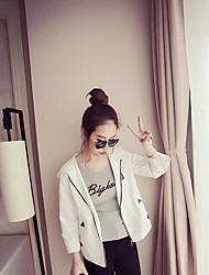 senhoras fã han jaqueta curta seção fina do sexo feminino zipper selvagem com capuz esportes jaqueta de manga sol roupas de proteção
