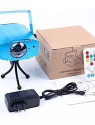 Недорогие -Светодиодные театральные лампы Волшебный светодиодный мяч Дисконтный клуб Party DJ Show Lumiere LED Crystal Light Лазерный проектор 12W -