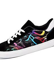 economico -Da uomo-scarpe da ginnastica-Casual-Comoda-Piatto-Di corda-Bianco/nero Nero/Rosso Schermo a colori