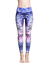 cheap -Women's Fashion Sexy Tights High Elastic Fitness Sports Yoga Leggings Size S-XL