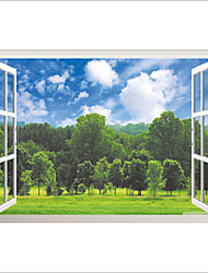 economico -Botanica Paesaggio 3D Adesivi murali Adesivi aereo da parete Adesivi 3D da parete Adesivi decorativi da parete,Vinile Materiale
