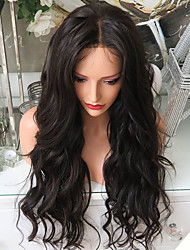 180% Density Glueless Lace Front Human Hair Lace Wigs with Baby Hair 100% Brazilian Virgin Human Hair Natural Hairline Hot Body Wave Lace Front Wigs